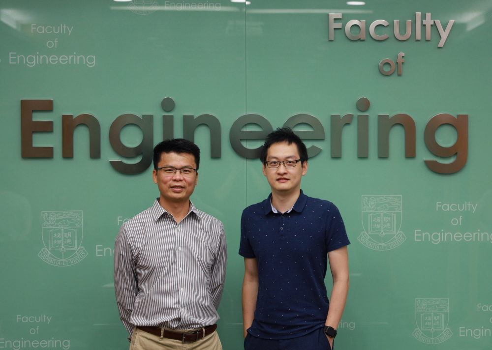 Professor Huang Mingxin and Dr Luo Ping